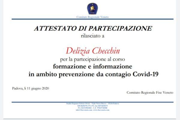 Assistenti Centri Estivi certificate
