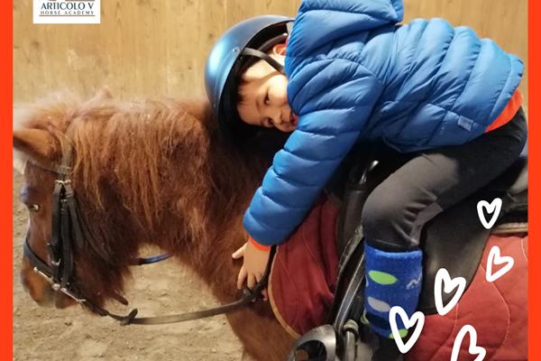 Il pony per i bambini