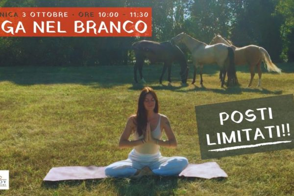 Yoga nel Branco – 3 Ottobre 2021 ore: 10.00-11.30